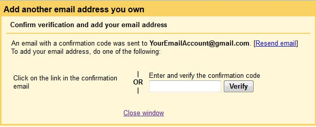 How to send email using another address from your Gmail account