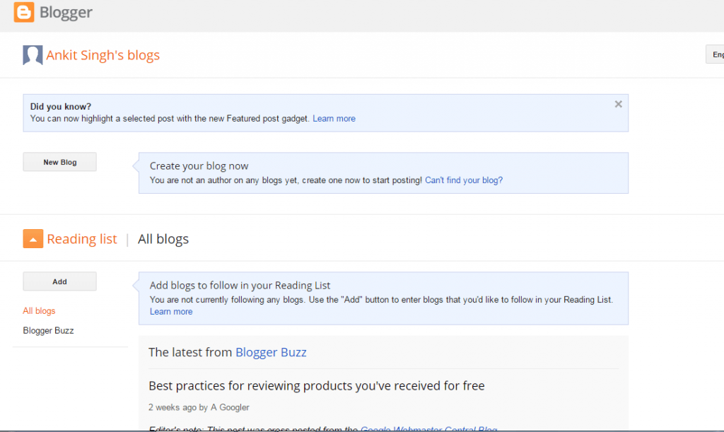 Step-By-Step guide to Blogging