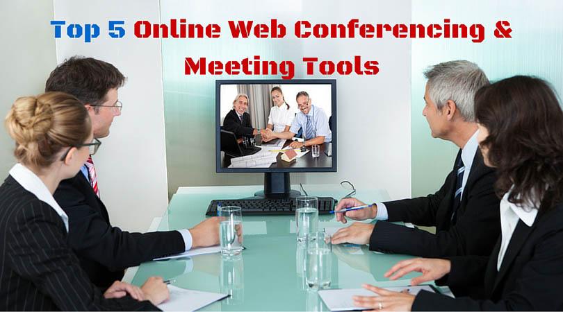 5 Best Online Screen Sharing & Meeting Tools