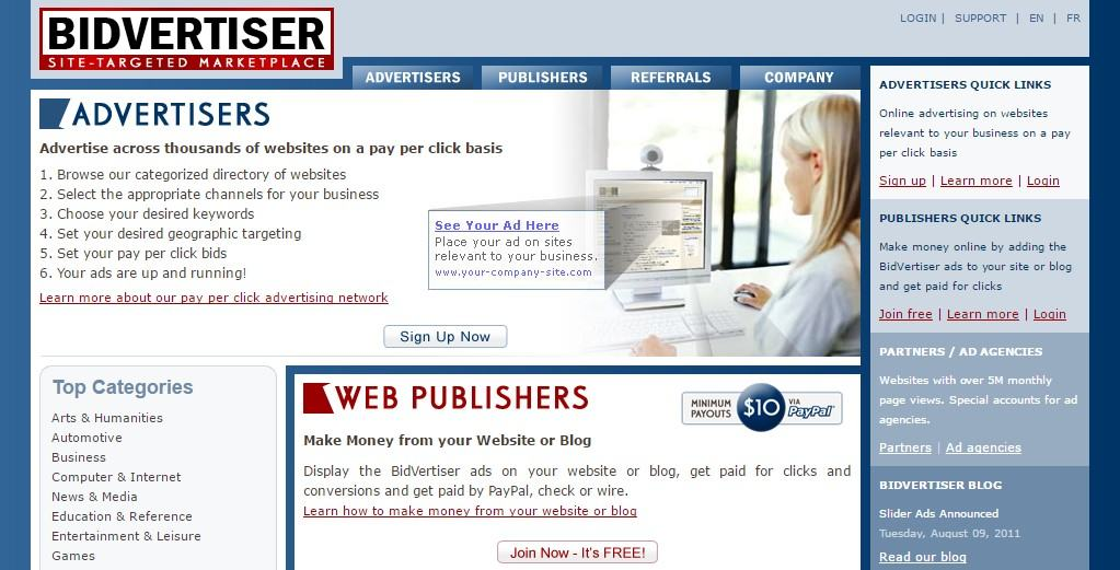 Best Ad Networks for New Bloggers or Small Publishers