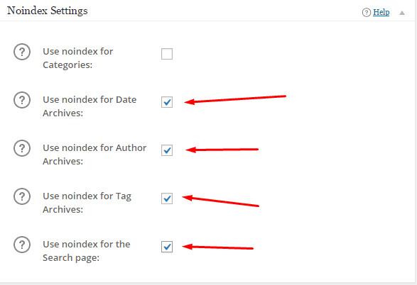 How To Noindex WordPress Tags and Categories in All in One SEO