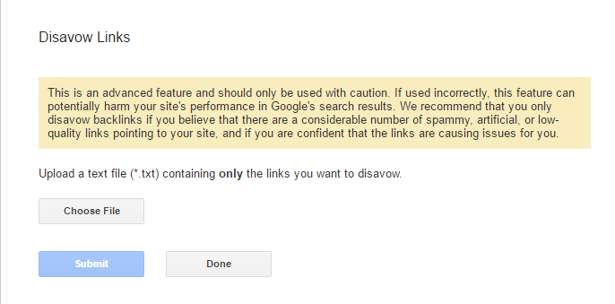 How To Remove Bad Backlinks using Google Disavow Links Tool?