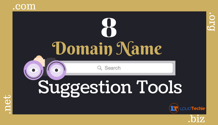 8 Tools To Lookup Perfect Domain Name Suggestion For Your New Domain