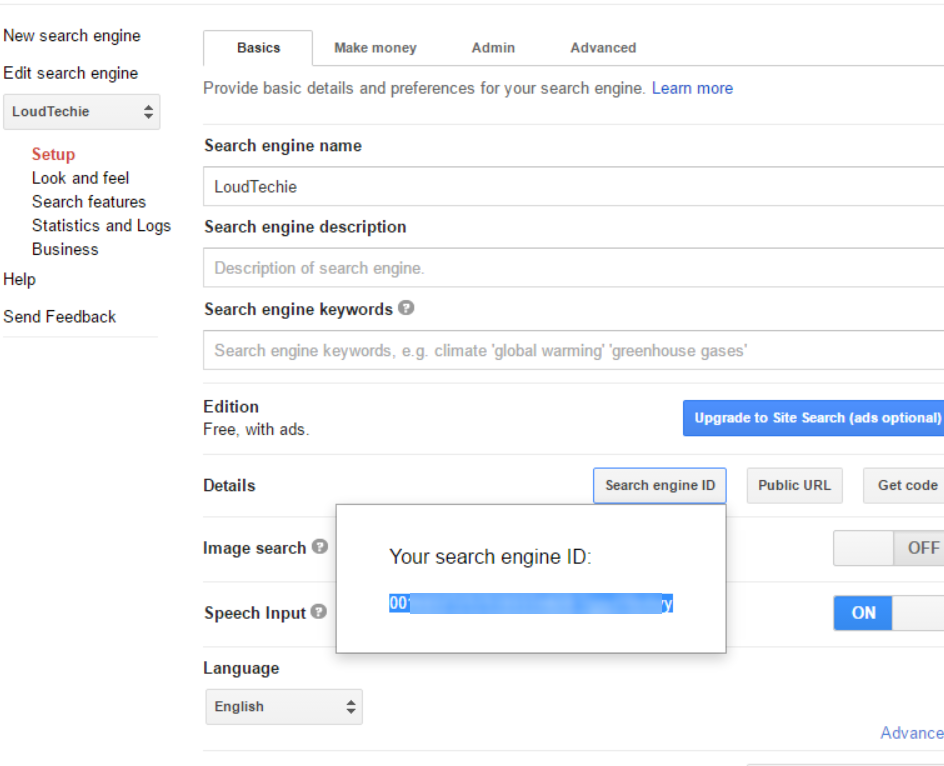 How To Add Google Custom Search box in WordPress