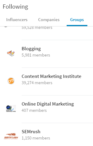 LinkedIn Groups - Place for Professionals in the Same Industry!