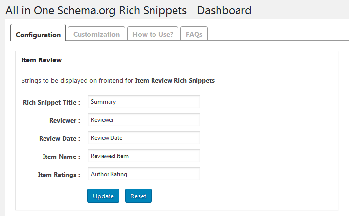 How To Add Rich Snippet To WordPress