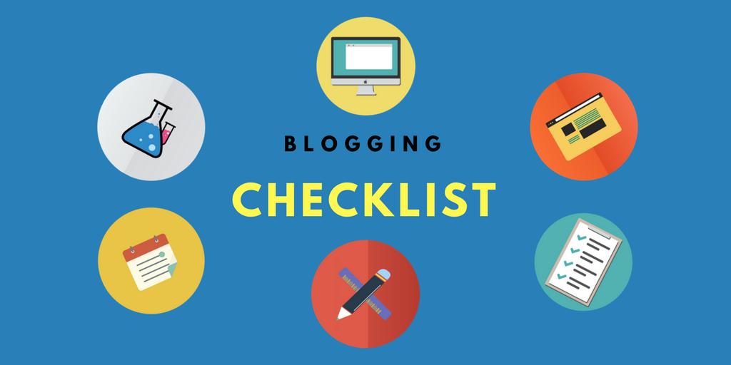 Blogging Mindset Checklist Before You Start a New Blog