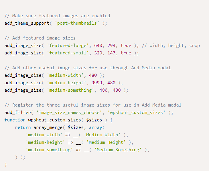 How to Stop WordPress from Generating Multiple Images Sizes