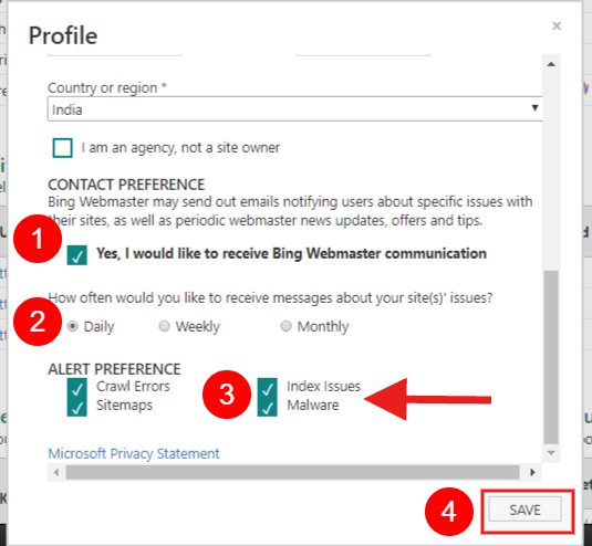how to submit your sitemap to bing webmaster tools